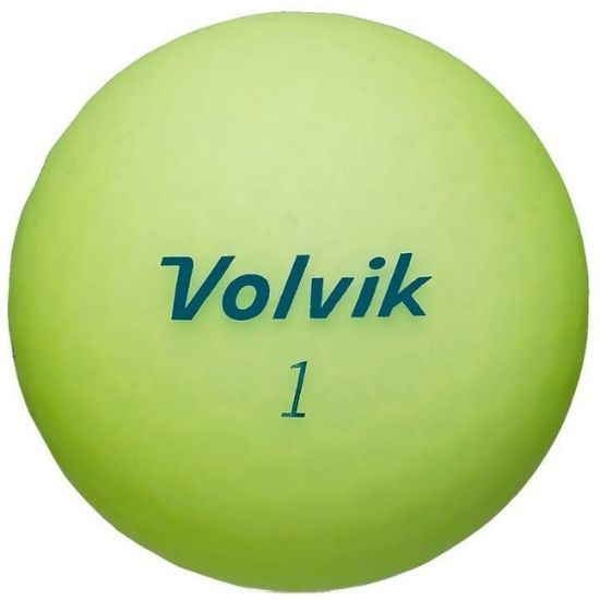 Volvik Vivid Matte Finished Colored Golf Balls review