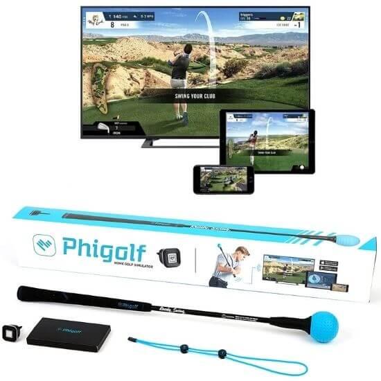 Phigolf Mobile and Home Golf Game Simulator Review